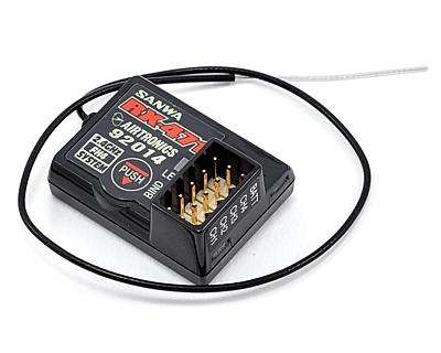 Sanwa RX-471 DUAL-ID (4-Channel/2.4GHZ FHSS-4, FHSS-3/SSR) Receiver