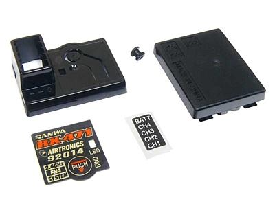 Sanwa RX-471 Receiver Case Set