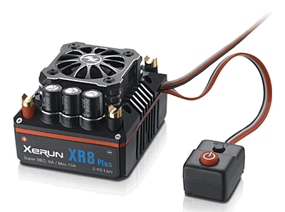 Hobbywing XeRun XR8 Plus Sensored Brushless ESC