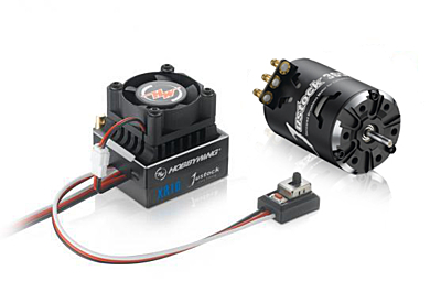 Hobbywing XeRun XR10 G2 Justock 21.5T Power System Combo (Black)