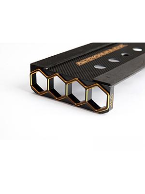Arrowmax Set-Up Frame For 1/10 Touring Cars Black Golden