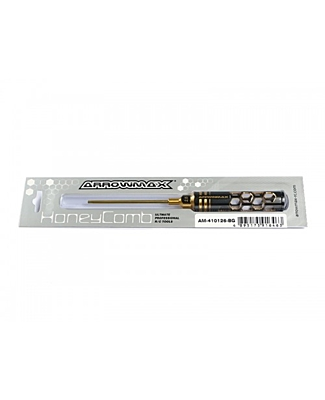 Arrowmax Allen Wrench 2.5 x 100mm Black Golden