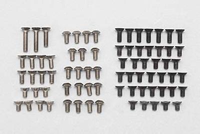 BD8'18 Titanium/Steel Screw Set (80pcs)