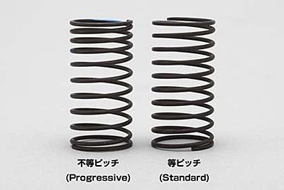 Yokomo Progressive Drift Spring 1.3×9.5 turn (Green)