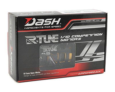 Dash R-Tune 540 Sensored Brushless Motor 4.5T