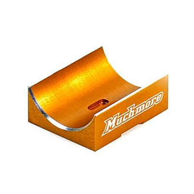 Muchmore Aluminum Capacitor Mount Orange for FLETA EURO V2