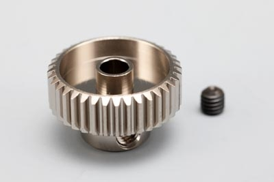 Yokomo 34T Hard Precision Pinion Gear (64Pitch·Light Weight)