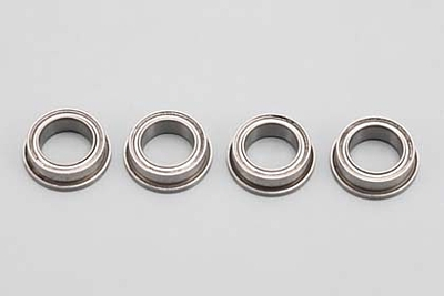 Yokomo 3/8x1/4x1/8 Flanged Ball Bearing (4pcs)