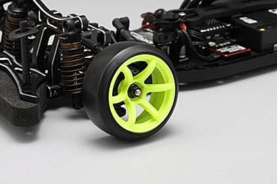 Racing Performer High Traction Drift Wheel (6mm Offset·Yellow·2pcs)