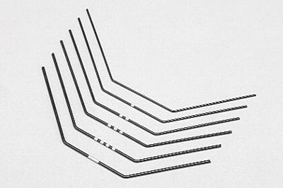 YZ-4SF Stabilizer Wire Soft Set (6pcs/1.0mm-1.5mm)