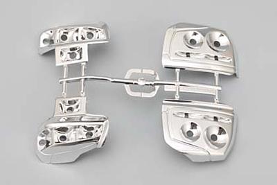 Yokomo BLITZ DUNLOP ER34 SKYLINE Light Unit Plastic Parts