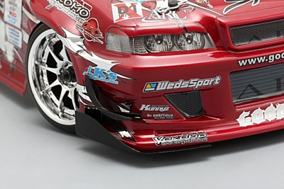Yokomo GOODYEAR Racing with Kunny'z JZX100 CHASER Body Set