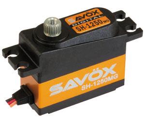 Savöx SH-1250MG Micro (0.11s/4.6kg/6.0V) Coreless Servo