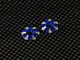 Spec-R Aluminum Wing Screw Holder (Blue)