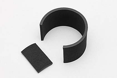 "Yokomo CRT ""LX"" Rubber Rear Tire (for High Traction/CRC Carpet·4pcs)"