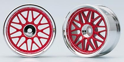 Yokomo 10-Mesh Wheel (Red)