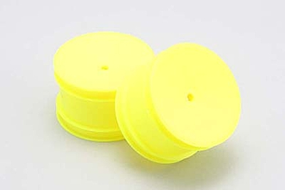 Yokomo Rear Hex 12mm Wheel (Yellow) for YZ-2/YZ-4