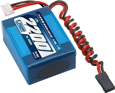 LRP VTEC LiPo 2200mAh RX-Pack Small Hump - RX-only - 7.4V