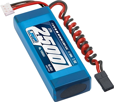 LRP VTEC LiPo 2500mAh RX-Pack 2/3A Straight - RX-only - 7.4V