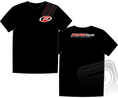 "PROTOform ""Stripe"" T-Shirt Black (Small)"