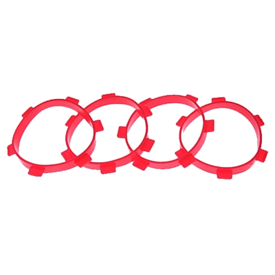 Ultimate Racing Tire Mounting Bands for 1/8 Tires (4pcs)