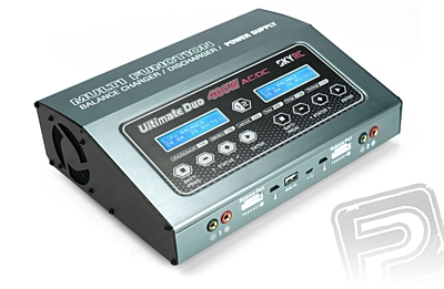 SkyRC D400 Ultimate Duo 400W - Balance Charger / Discharger / Power Supply