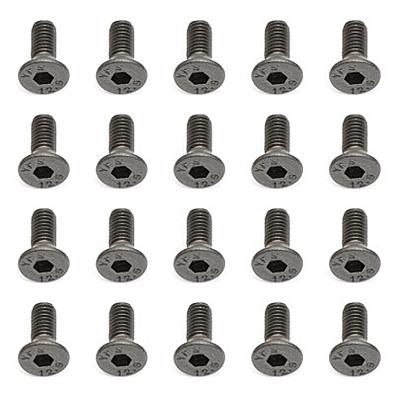Associated Screws M3x8mm FHCS (10pcs)