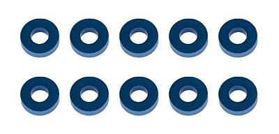 Associated Washers, 7.8x3.5x2.0mm, blue aluminum