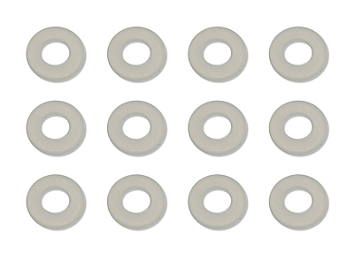 Associated Washers, 1/32 in (.03 in), nylon spacers