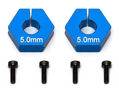 Associated FT Clamping Wheel Hexes, 5.0 mm