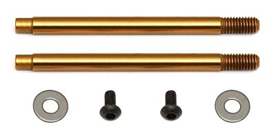 Associated 3x21 mm Shock Shafts (V2), TiN