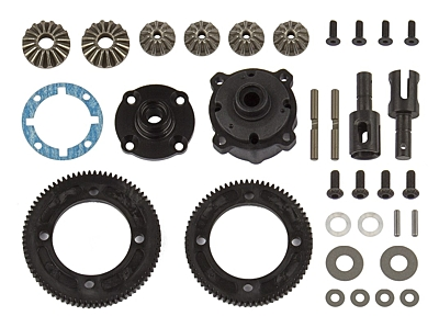 Associated RC10B74 Differential Set, center