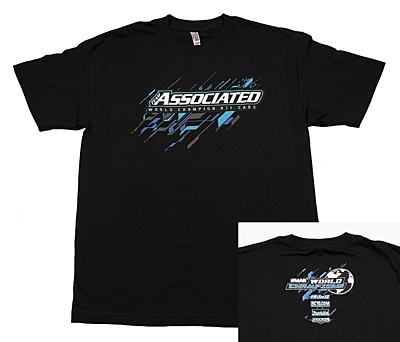 Associated 2017 Worlds T-Shirt (Black, 4XL)