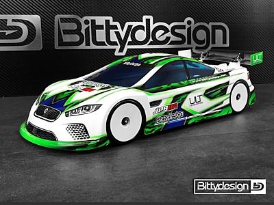 Bittydesign JP8HR Ultra Light Clear Body (190mm TC)