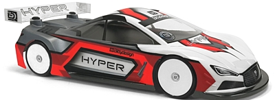 Bittydesign Hyper 1/10 TC 190mm Light Weight Body