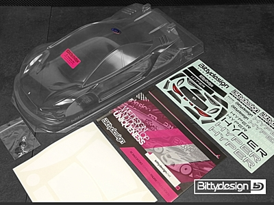 Bittydesign Hyper 1/10 TC 190mm Ultra Lite Body
