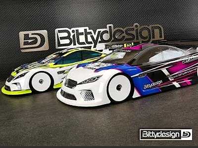 Bittydesign JP8 Light Weight Clear Body (190mm TC)