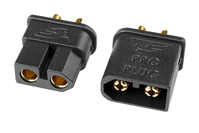 Corally TC PRO Connector 3.5mm - Male + Female (1pr)