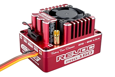 Corally Revoc PRO 160 Racing Factory 2-6S ESC (Red)