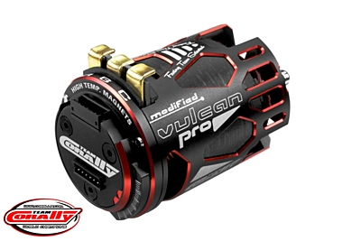 VULCAN PRO Modified - 1/10 Sensored Competition Brushless Motor - 6.5 Turns - 5350 KV