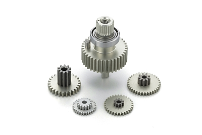 KO Propo Aluminum Gear Set for RSx3-one10 Flection