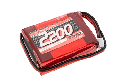 Nosram VTEC LiPo 2200mAh RX-Pack Small Hump - RX-only - 7.4V