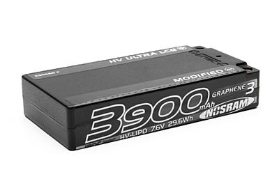Nosram Graphene-3 Ultra LCG Modified Shorty 3900mAh 7.6V 2S 120C/60C HV LiPo (5mm, 155g)
