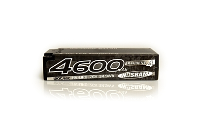 Nosram Graphene-4 LCG Modified Shorty 4600mAh 7.6V 2S 120C/60C HV LiPo (5mm, 186g)