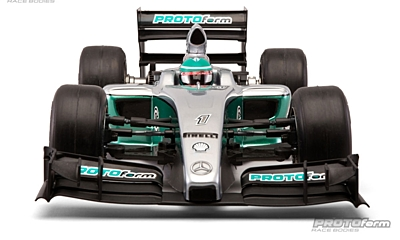 PROTOform F1-Fifteen Clear Body (1:10 Formula 1)