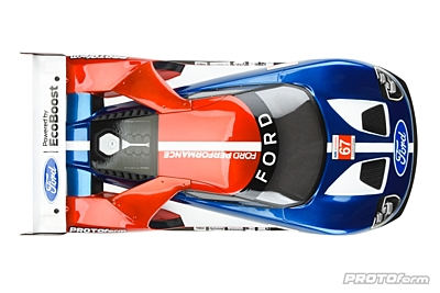 PROTOform Ford GT Clear Body (190mm TC)