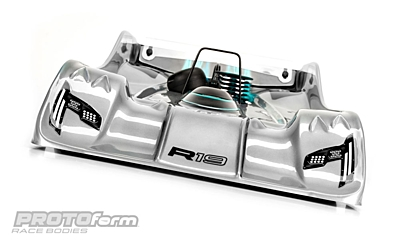 PROTOform R19 Light Weight Clear Body (1:8 Onroad)