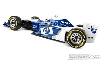 PROTOform F26 Clear Body (1:10 Formula 1)