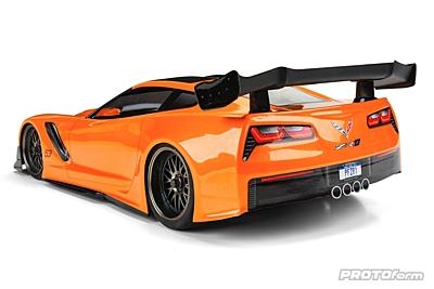 PROTOform Chevrolet Corvette ZR1 Clear Body (190mm TC)
