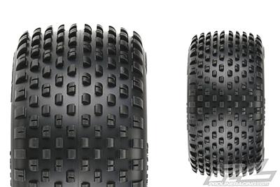 "Pro-Line Wedge T 2.2"" Z4 (Soft Carpet) 1:10 Off-Road Carpet Truck Front Tires"